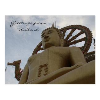 buddha greetings postcard