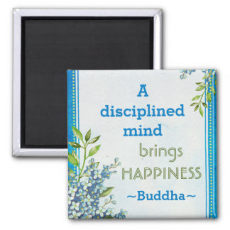 Buddha Happiness Motivational Quote Magnet