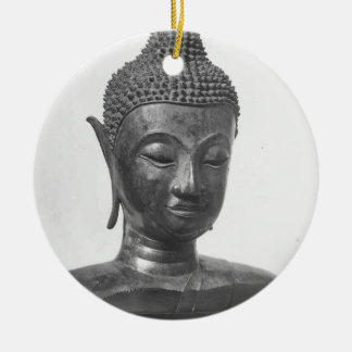 Buddha Head - 15th century - Thailand Ceramic Ornament