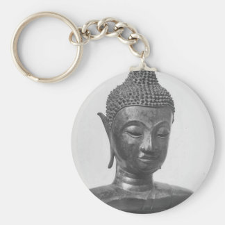 Buddha Head - 15th century - Thailand Key Ring