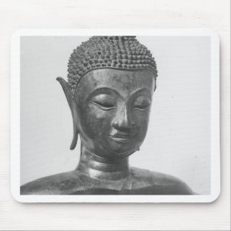 Buddha Head - 15th century - Thailand Mouse Pad