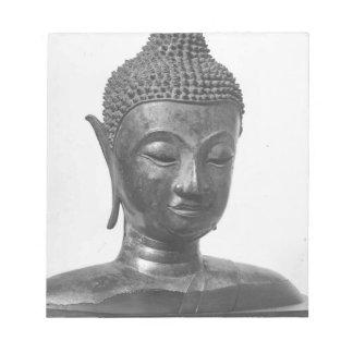 Buddha Head - 15th century - Thailand Notepad