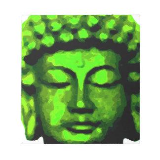 Buddha head notepad