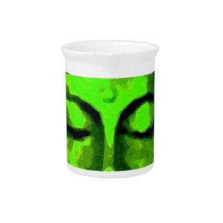 Buddha head pitcher