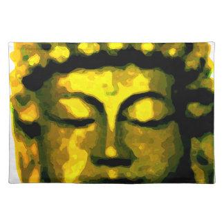 Buddha head placemat