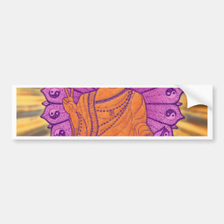 Buddha Illuminated Bumper Sticker