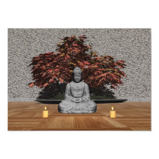 Buddha in a room - 3D render Card