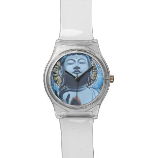 Buddha in Blue Watch