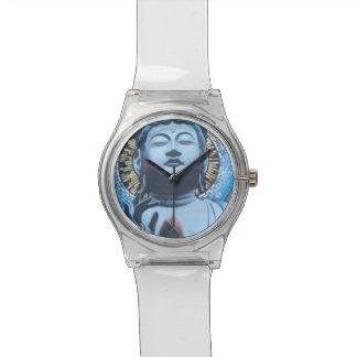 Buddha in Blue Watch