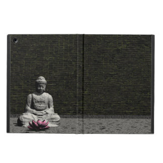Buddha in grey room - 3D render Cover For iPad Air