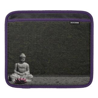 Buddha in grey room - 3D render iPad Sleeve