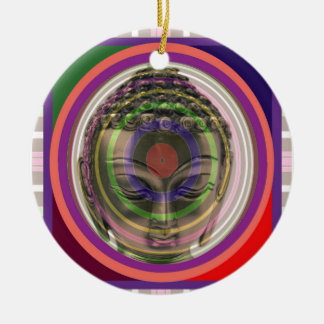 BUDDHA in meditation Master Teacher Saint Guru FUN Ceramic Ornament