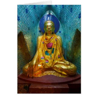 Buddha In Ornate Alcove Card