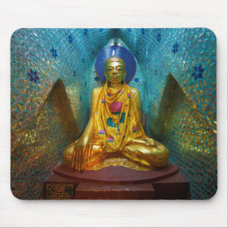 Buddha In Ornate Alcove Mouse Pad