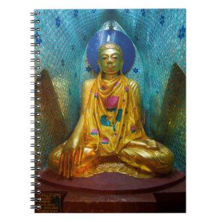 Buddha In Ornate Alcove Notebook