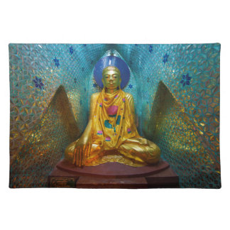 Buddha In Ornate Alcove Placemat