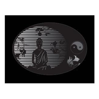 Buddha in Oval Postcard