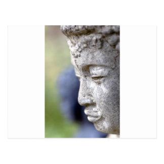 Buddha in Profile Post Card