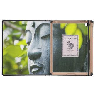 Buddha in Senso-ji Temple Garden iPad Cases