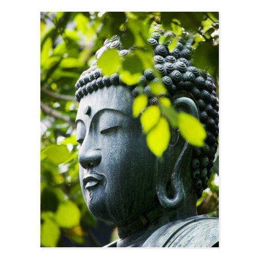 Buddha in Senso-ji Temple Garden Post Cards
