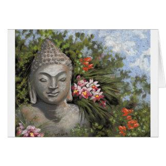 Buddha in the Jungle Card