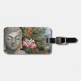 Buddha in the Jungle Luggage Tag