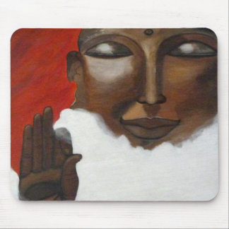 Buddha in the skies mouse pad mouse pad