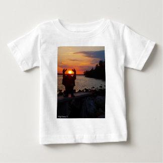 Buddha In the Sunset Baby T-Shirt