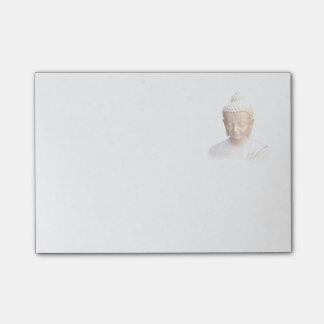 Buddha In White | Serene Meditative And Calm Post-it Notes