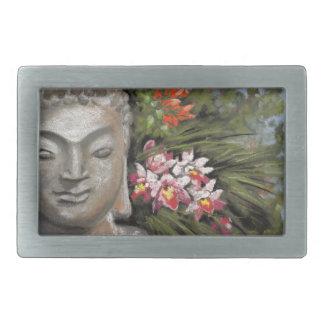 Buddha & Jungle Flowers Belt Buckles