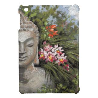 Buddha & Jungle Flowers iPad Mini Case