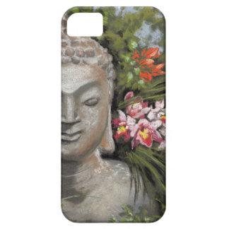 Buddha & Jungle Flowers iPhone 5 Cover