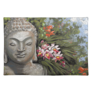 Buddha & Jungle Flowers Placemat