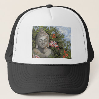 Buddha & Jungle Flowers Trucker Hat