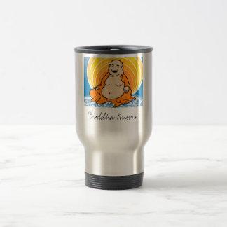 Buddha Knows Travel Mug