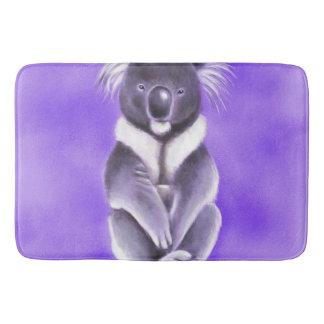 Buddha koala bath mat