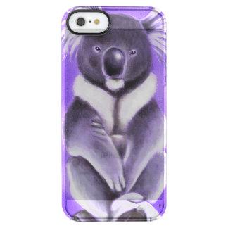 Buddha koala clear iPhone SE/5/5s case