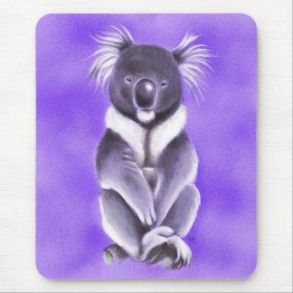 Buddha koala mouse pad