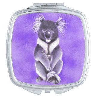 Buddha koala travel mirror
