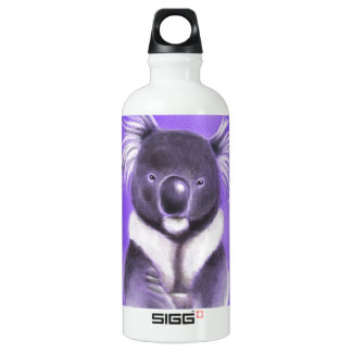 Buddha koala water bottle