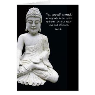 Buddha Love & Affection Card