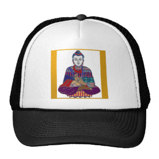 BUDDHA Master Yoga Spirit Lord Teacher Meditation Trucker Hat