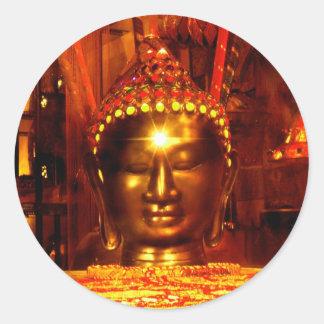 Buddha Meditation Stickers