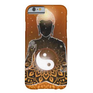 Buddha Meditation Ying Yang Design Barely There iPhone 6 Case