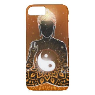 Buddha Meditation Ying Yang Design iPhone 8/7 Case