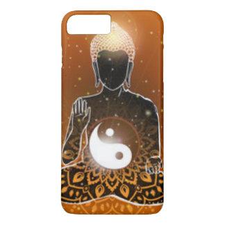 Buddha Meditation Ying Yang Design iPhone 8 Plus/7 Plus Case