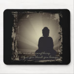 Buddha Mind Is Everything Mousepads