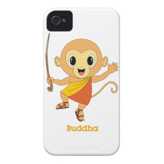 Buddha Monkey™ iPhone 4/4S Case-Mate Barely There™ iPhone 4 Case-Mate Case