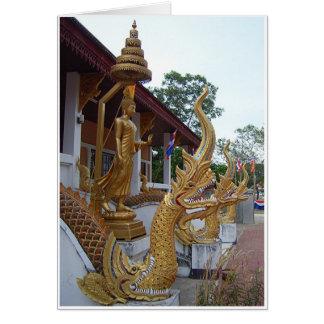 Buddha & Naga Card