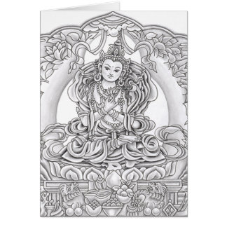 Buddha of Compassion Greeting Card